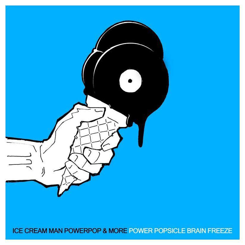 Pochette de la compilation GPower popsicle Brain Freeze
