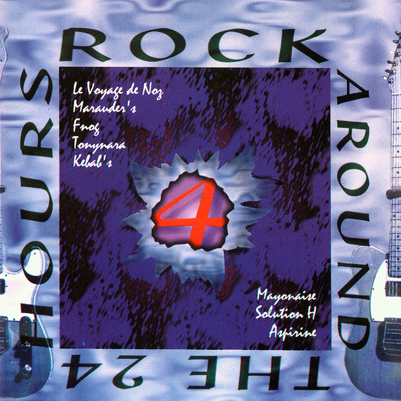 Pochette du CD Rock Around The  24 Hours